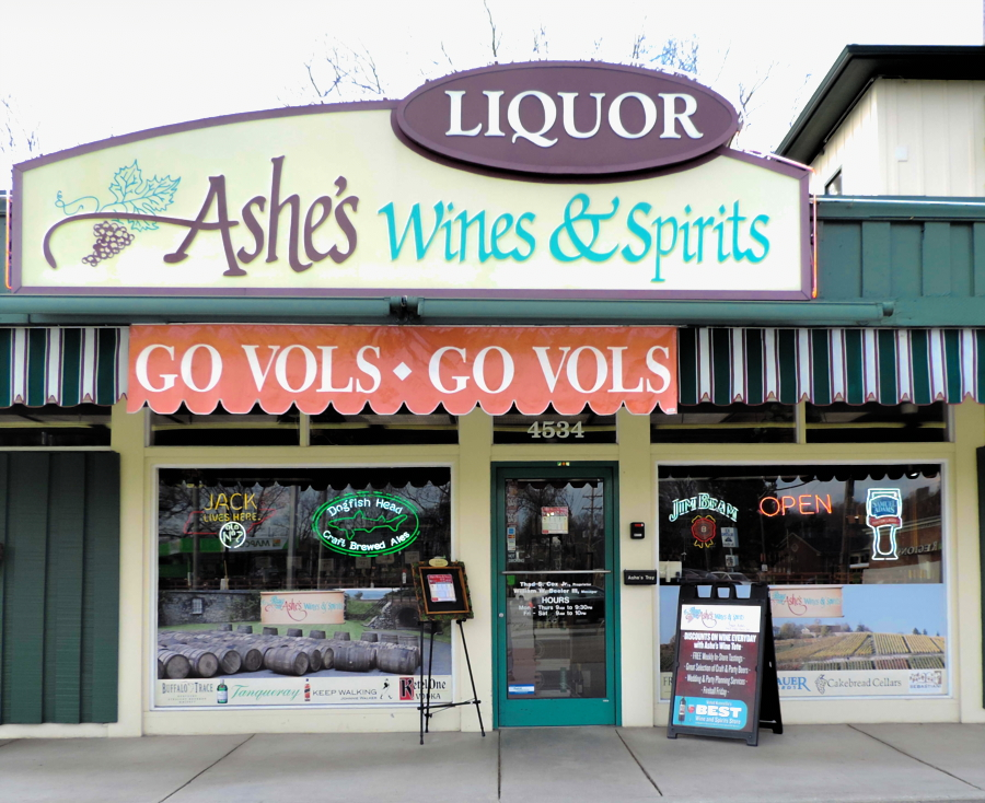 Wine Beer Spirits Shop Liquor Store Knoxville Tn Ashes Wines Spirits